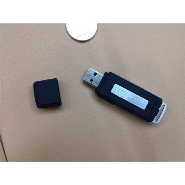 [SALE 10%] Máy ghi âm nguỵ trang hình usb 8Gb