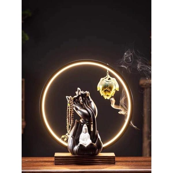đèn trầm hương