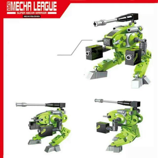 ( Rẻ vô địch) Lego 8 trong 1 Enlighten - mô hình robot