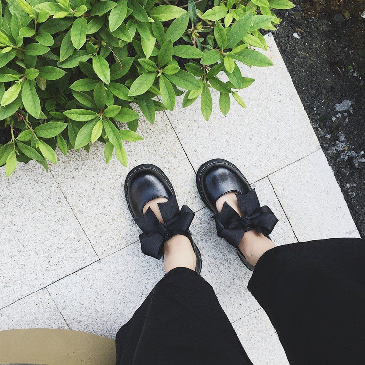 Giày Lolita Gắn Nơ Không Bóng ( 2 Màu Đen Hồng) ĐỦ SIZE - 2677191 , 618282499 , 322_618282499 , 230000 , Giay-Lolita-Gan-No-Khong-Bong-2-Mau-Den-Hong-DU-SIZE-322_618282499 , shopee.vn , Giày Lolita Gắn Nơ Không Bóng ( 2 Màu Đen Hồng) ĐỦ SIZE