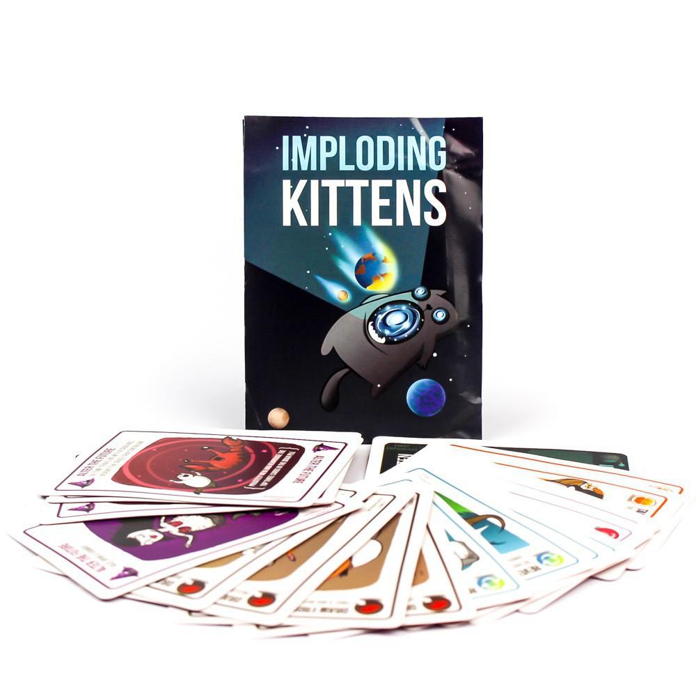 Combo 4 Bản Mèo Nổ Exploding Kittens Mở Rộng Mới Nhất Chất Lượng Cao CMS(591)