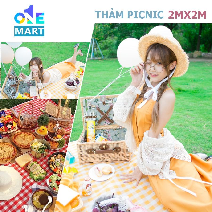 [Chống Thấm] Thảm du lịch, Thảm picnic dã ngoại gấp gọn chống thấm nước có sẵn các kích thước