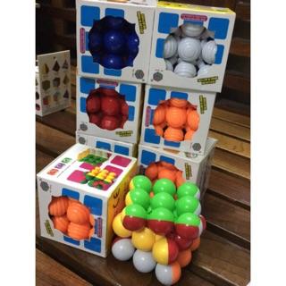 Rubik 3x3x3 ma thuật ( hình bi tròn 616)