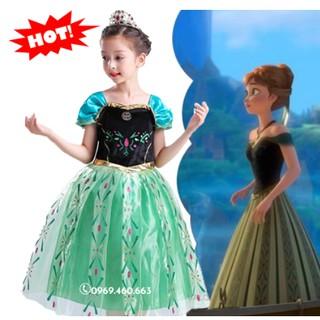 Đầm Công Chúa Anna. Váy Đầm Anna dễ thương