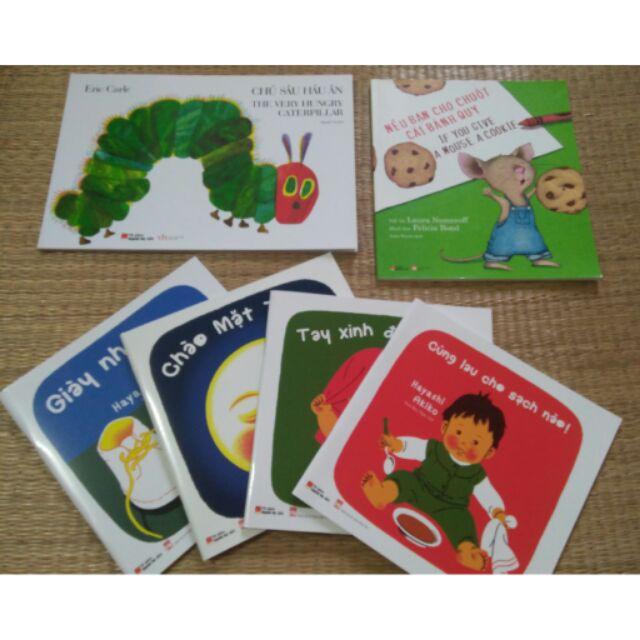 Combo Ehon - song ngữ cho bé 0-3 tuổi