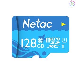 Netac 128GB TF Card Large Capacity Micro SD Card UHS-1 Class10 High Speed Memory Card Camera Dashcam Monitors Micro SD Card