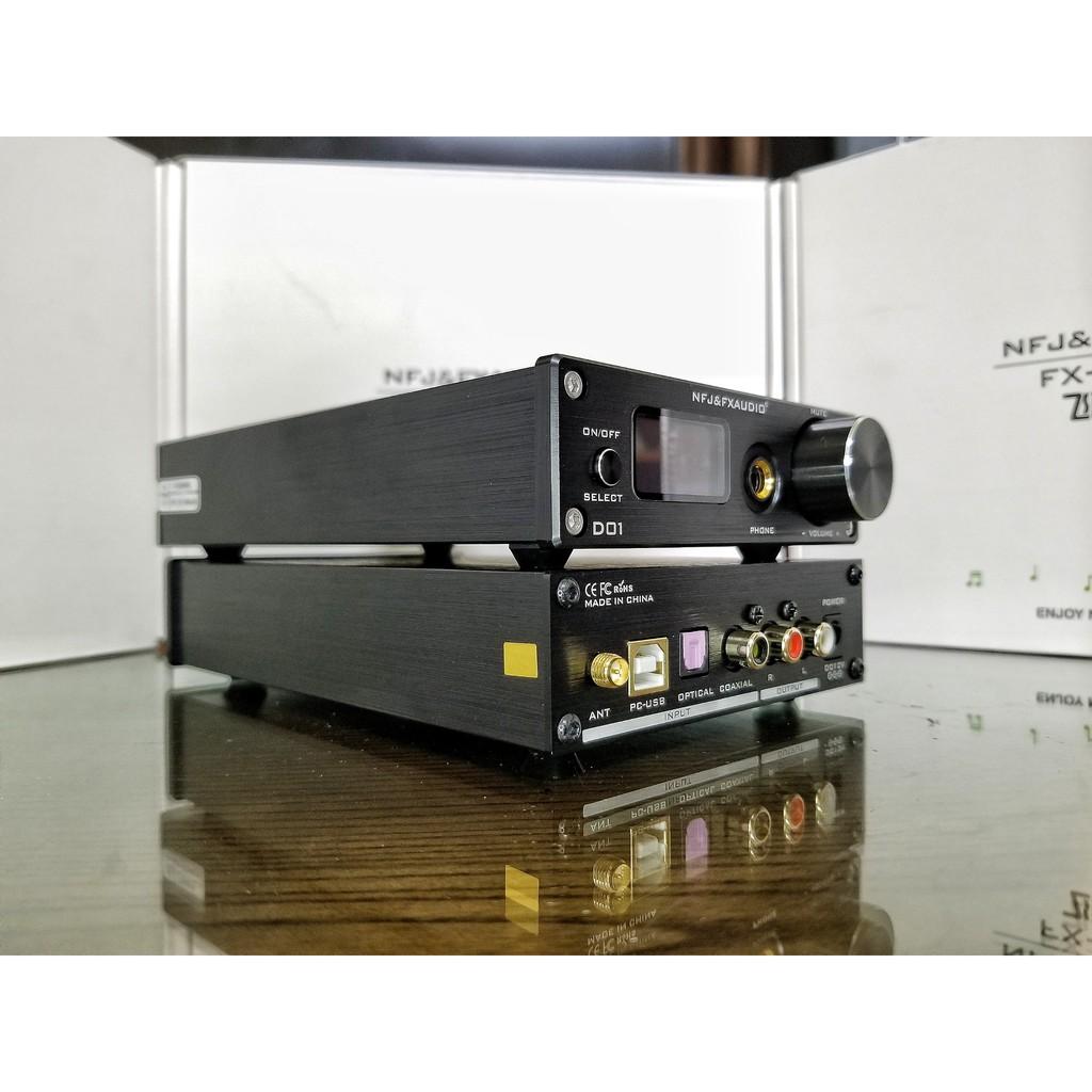 Giải mã âm thanh DAC D01được hãng FX audio phát triển từ X7