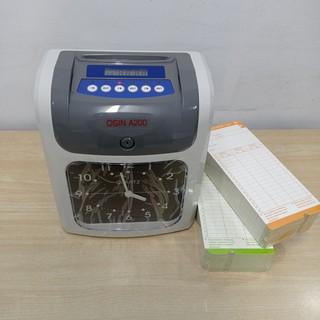 [Nhập KYTHSG202 giảm 100k đơn từ 2tr] Máy chấm công bằng thẻ giấy OSIN A200/N200