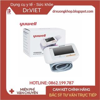 Máy đo huyết áp cổ tay Yuwell YE8600A-Với tính năng cảnh báo quấn vòng bít đúng và cảnh báo máy đặt ngang tim thumbnail