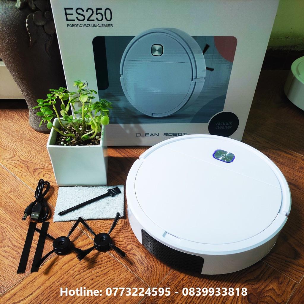 Robot hút bụi thông minh thế hệ mới ES250. Bảo hành 1 đổi 1 ( Tem bảo hành )