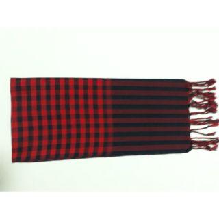 Khăn rằn đỏ đen