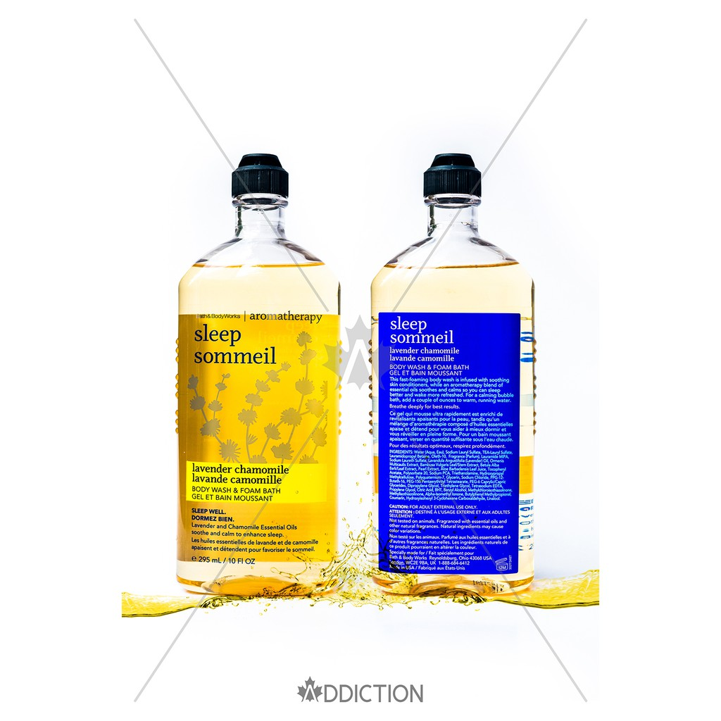 Tắm thư giãn Lavender Chamomile - Bath & Body Works Aromatherapy (295ml)