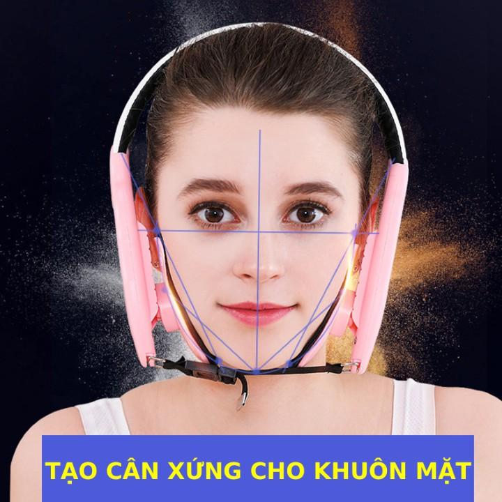 Đai nâng cơ mặt Vline tạo cân xứng cho khuôn mặt và loại bỏ nẹm cằmtạo cân xứng cho khuôn mặt theo hình chữ V