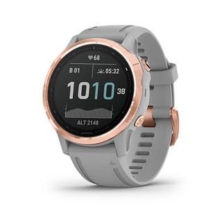 Đồng hồ thông minh Garmin Fenix 6S - Sapphire, 42mm, Carbon Gray DLC with Black Band thumbnail