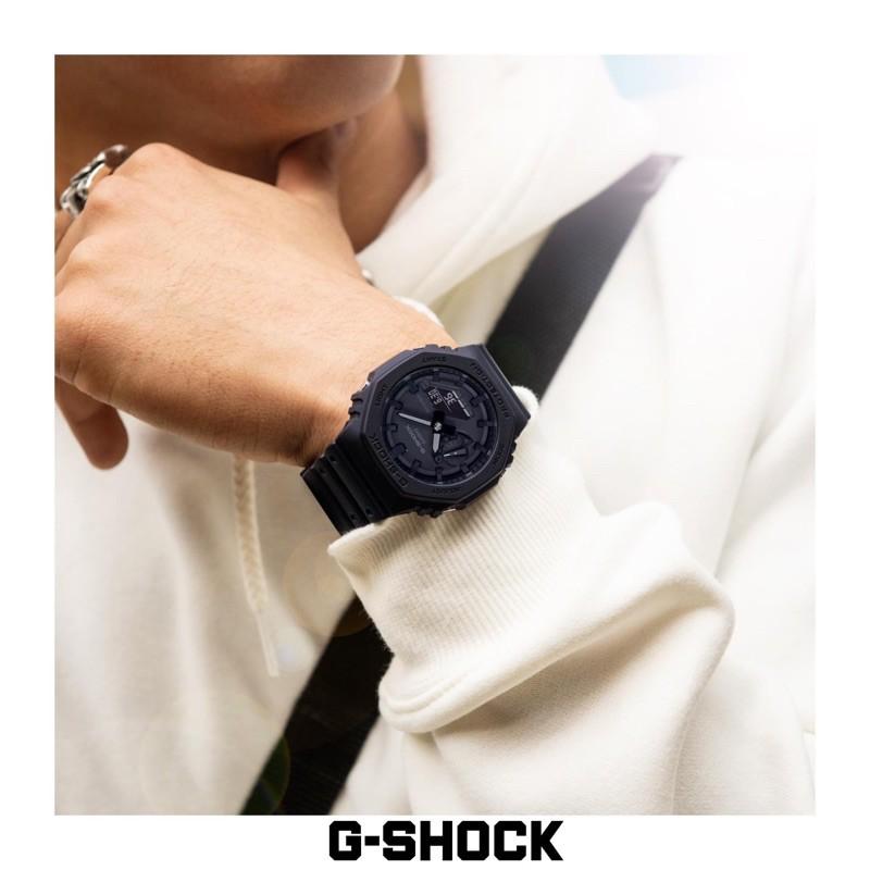 Đồng Hồ Casio Nam Dây Nhựa G-SHOCK GA-2100-1A1 Chính Hãng