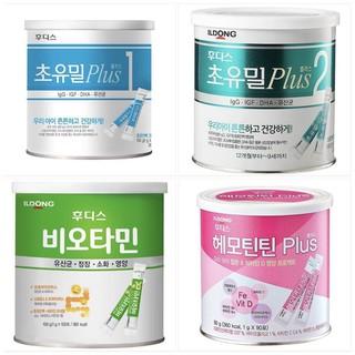 Sữa Non ildong Plus Số 1, Số 2, Men, Sắt Hàn Quốc Hộp 100g (date 09/2022)