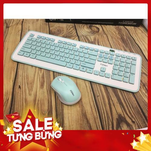 Bộ bàn phím chuột không dây Fuhlen MK880 – Siêu HOT Giá chỉ 644.000₫