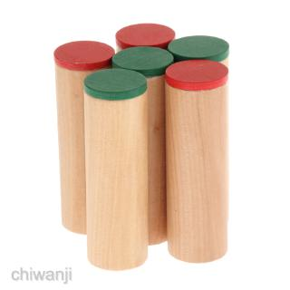 Beechwood Montessori Sound Cylinders Kids Early Auditory Educational Toy