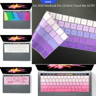 Miếng Dán Bảo Vệ Bàn Phím Cho Laptop 15 Inch Macbook Pro Touch Bar A1707 thumbnail