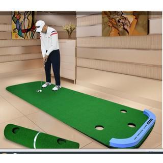 [ NEW ] Thảm tập Golf PUTTING MAT mẫu mới Nhất thumbnail
