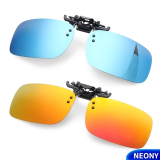 NEONY Fashion Polarized Glasses Eyewear Driving Glasses Clip-on Sunglasses for Prescription Glasses UV400 Outdoor Anti-Glare Night Vision Glasses