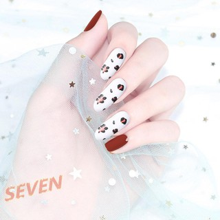 Bộ 7 hình dán trang trí móng tay xinh xắn