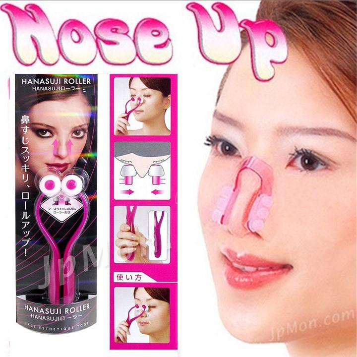 Freeship 99k TQ_Combo dụng cụ nâng mũi Nose Up và cây massage thon mũi
