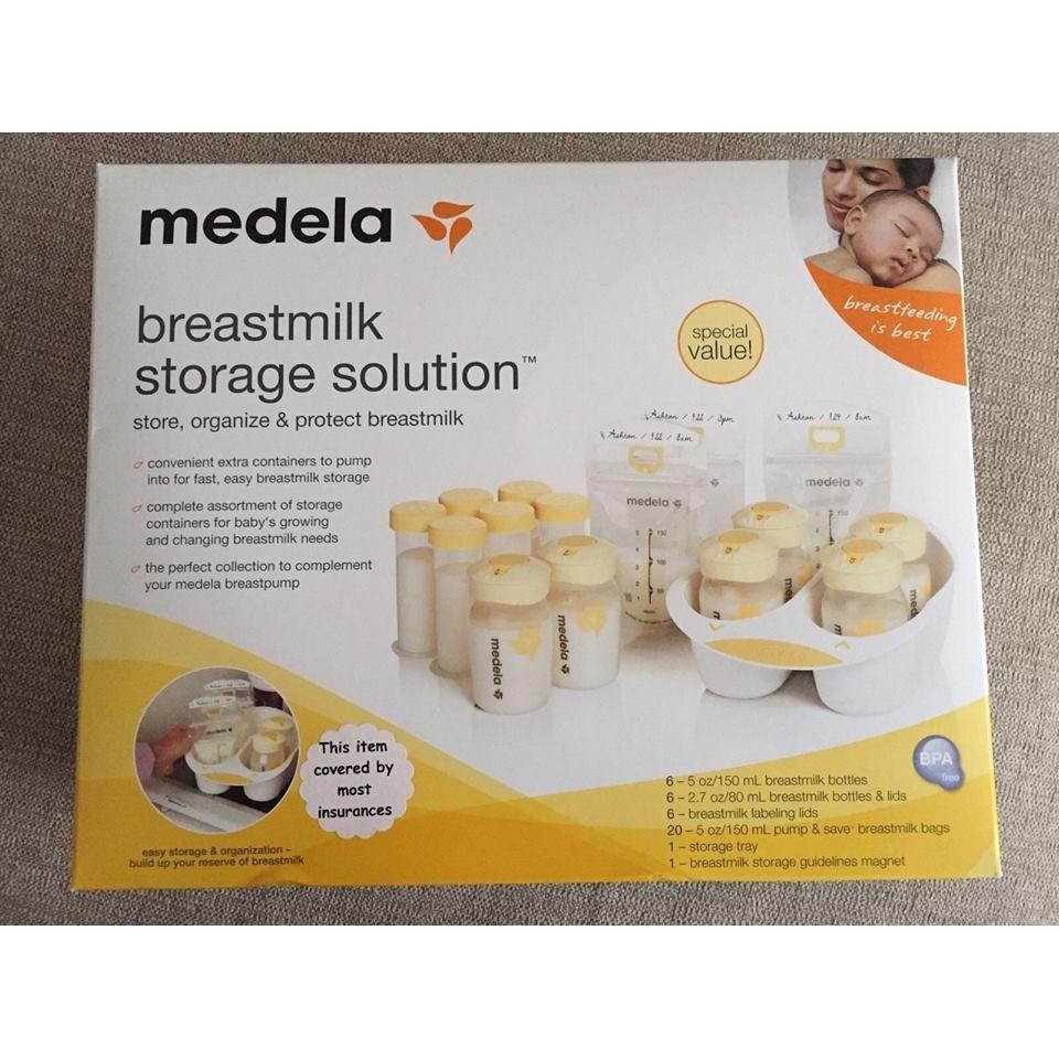 Set khay và bình trữ sữa Medela - 2488006 , 252166415 , 322_252166415 , 850000 , Set-khay-va-binh-tru-sua-Medela-322_252166415 , shopee.vn , Set khay và bình trữ sữa Medela