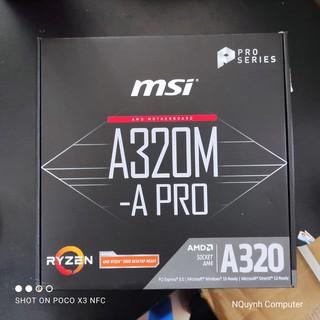 Main MSI A320-A Pro ( Chính Hãng – Bảo Hành 36 tháng)