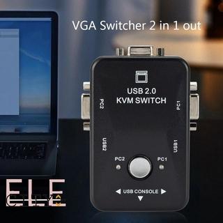 Bộ Chia 6 Cổng Usb 2.0 Vga Kvm 2 Trong 1 Vga Switch Vga thumbnail