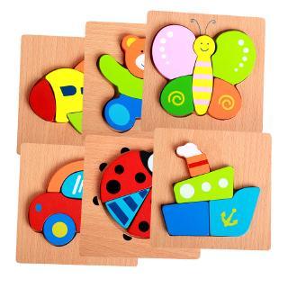 bộ đồ chơi lắp ghép bằng gỗ cho bé