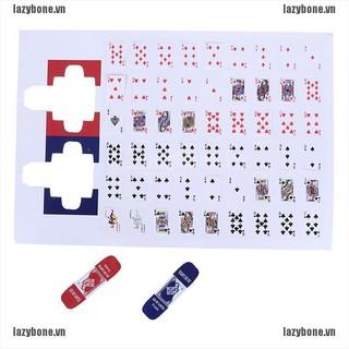 Mô hình bộ bài tây tỉ lệ 1 12 trang trí nhà búp bê thumbnail