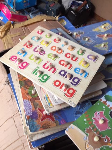 Thanh lý bảng gỗ các chủ đề cho bé