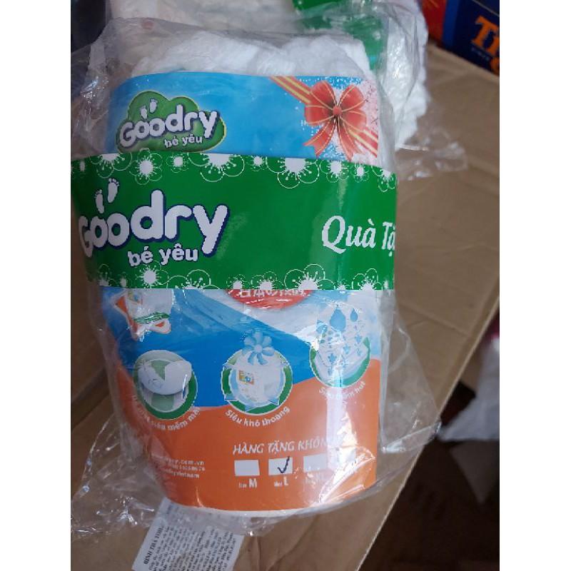 Combo 80 miếng bỉm quần Goodry size L