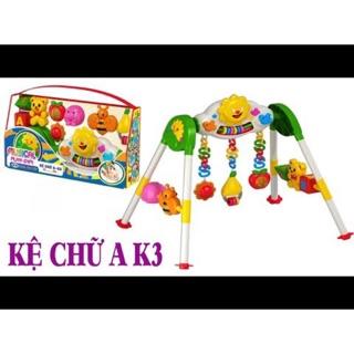 Kệ chữ A – K3 nhựa chợ lớn có nhạc đèn