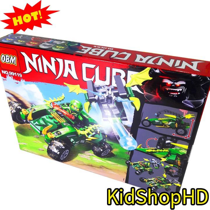 Bộ Lego Ninjago Xếp Hình Xe Địa Hình NO.99119. 215 Chi Tiết. Lego Lắp Ráp Đồ Chơi Cho Bé. Lego Ghép Hình
