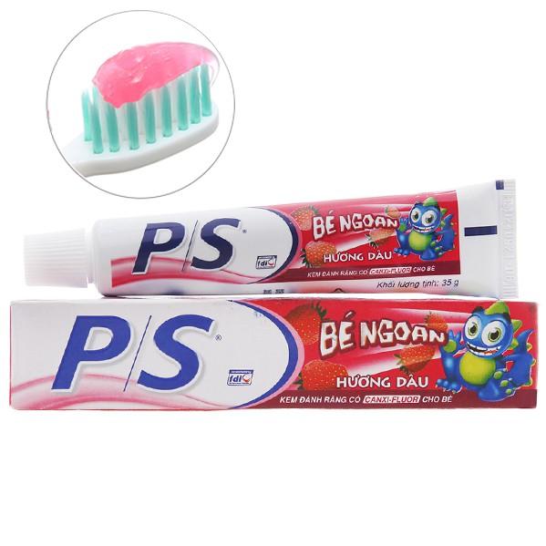 Kem đánh răng trẻ em P/S ngừa sâu răng dâu 35g