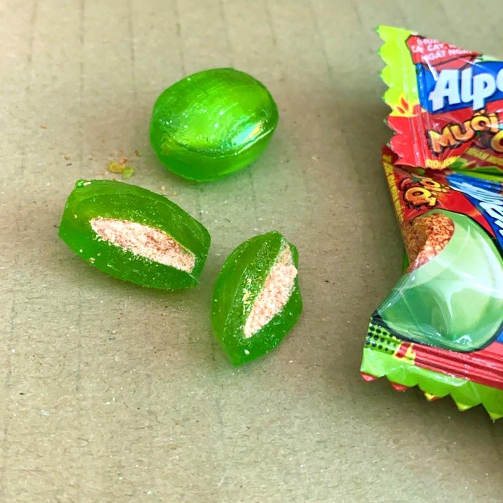 Kẹo Alpenlibe Hương Xoài Nhân Muối Ớt 87G - Đồ Ăn Vặt Nội Địa Ngon , Giá Rẻ - Bánh Kẹo Ăn Vặt - Ruvask