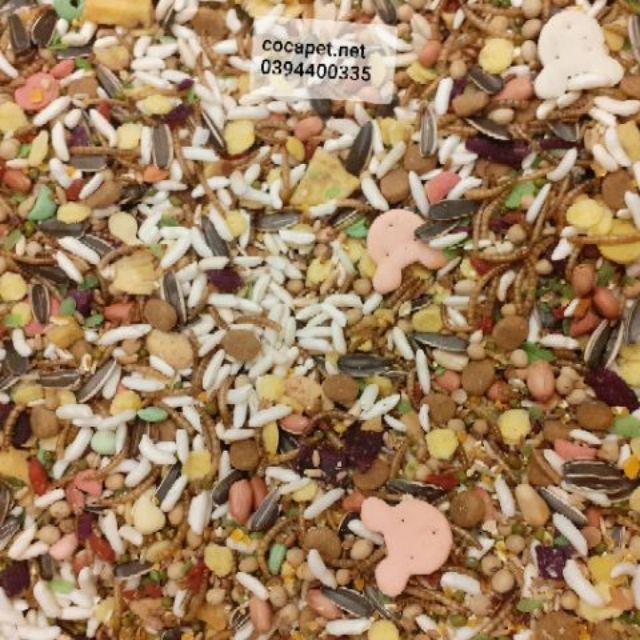 Thức ăn vip cho hamster 400g - Thức ăn thường cho hamster 500g