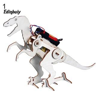 Bộ đồ chơi lắp ráp mô hình khủng long bằng gỗ cho bé sáng tạo thumbnail