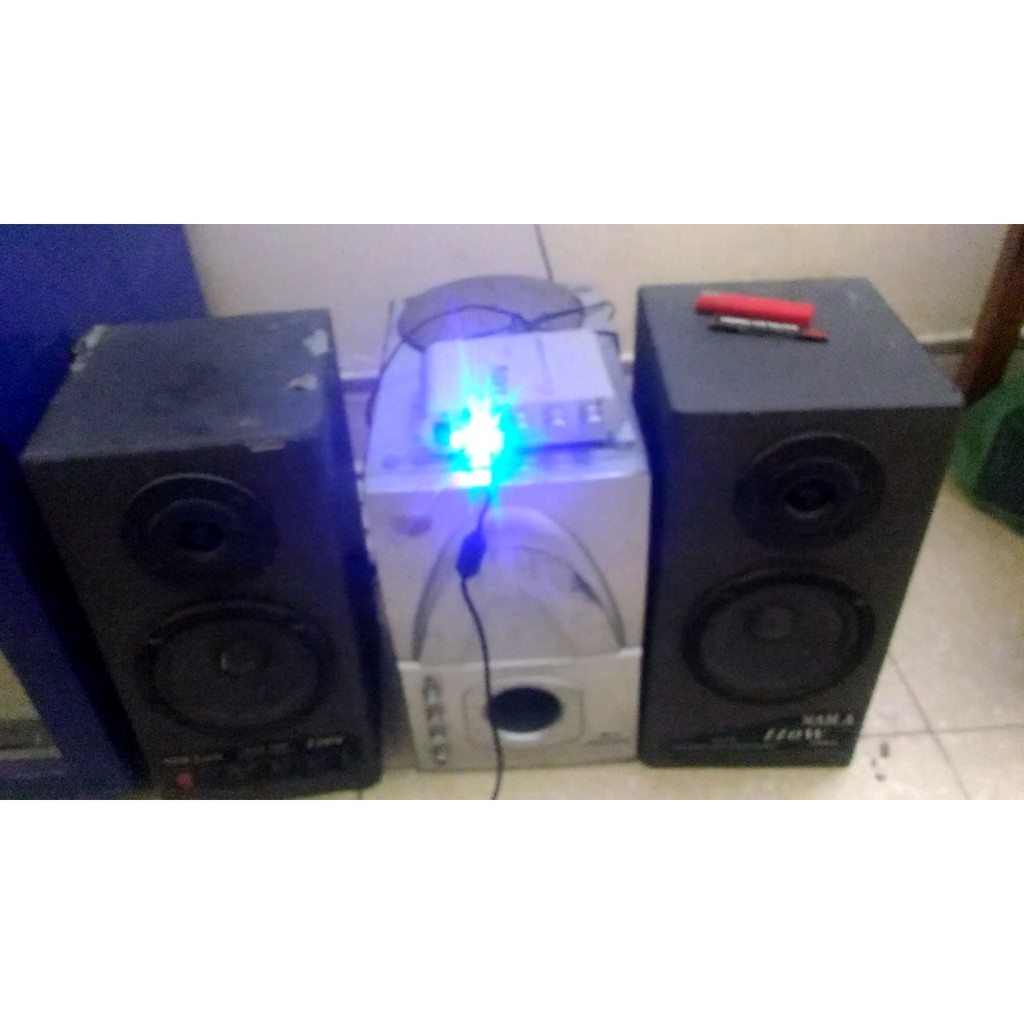AMPLY MINI LEPY 838 + CỤC NGUỒN 12V XỊN [FREESHIP] 295K 800G