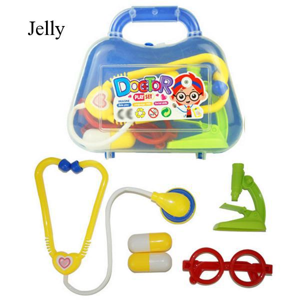 Complete Doctors Pretend Role Play Kit Capsule Microscope for Kids Birthday J339