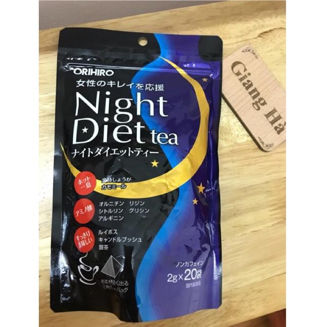 Trà giảm cân Night Diet Tea Orihiro Nhật Bản - 2603853 , 1282857213 , 322_1282857213 , 300000 , Tra-giam-can-Night-Diet-Tea-Orihiro-Nhat-Ban-322_1282857213 , shopee.vn , Trà giảm cân Night Diet Tea Orihiro Nhật Bản