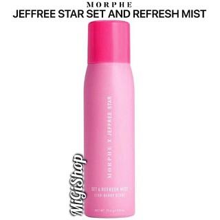 [Hàng Mỹ] Xịt Khoáng Trang Điểm Morphe Jeffree Star Set And Refresh Mist 79,4g