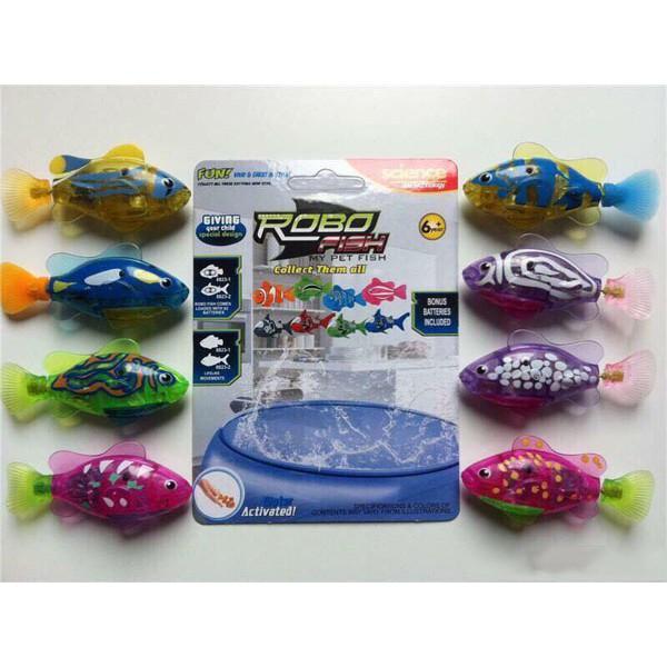 Combo 3 con cá chạy bằng pin bơi được trong nước (nhiều màu)