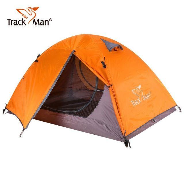 [Mã MASO2207 hoàn 15%, tối đa 35K xu đơn 99K] Lều du lịch 2 người Trackman TM1201 ( 2 lớp, khung nhôm )