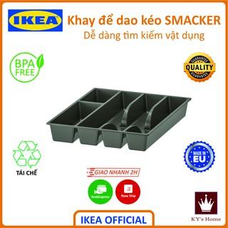Khay đựng muỗng đũa dao kéo thìa Ikea Smacker Chính Hãng Thụy Điển 31x26 cm BPA Free