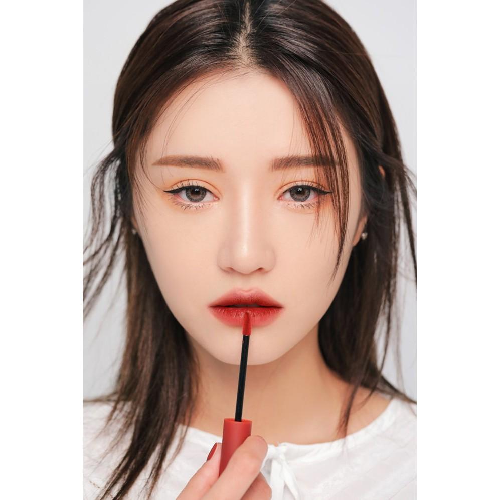 Son 3ce velvet lip tint màu đỏ gạch nâu taupe