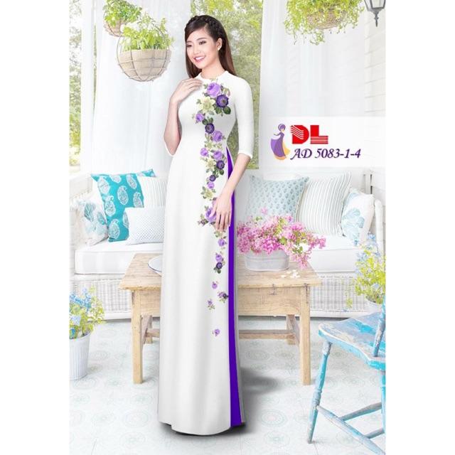 Vải áo dài in 3D - 2993533 , 411915564 , 322_411915564 , 230000 , Vai-ao-dai-in-3D-322_411915564 , shopee.vn , Vải áo dài in 3D