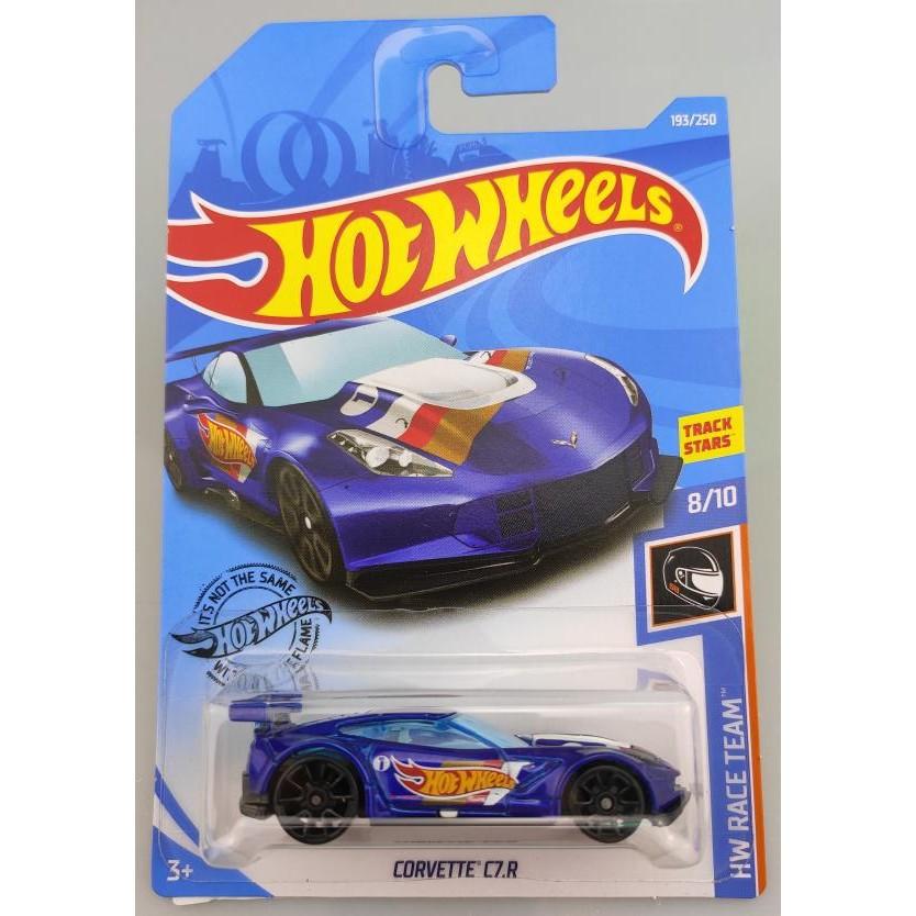 Xe mô hình Hot Wheels Corvette C7.R FYC75